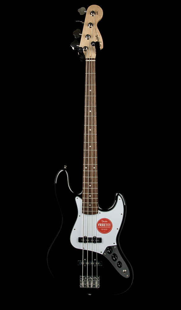 Squier Affinity J Bass DS Black #CY191202961 Front