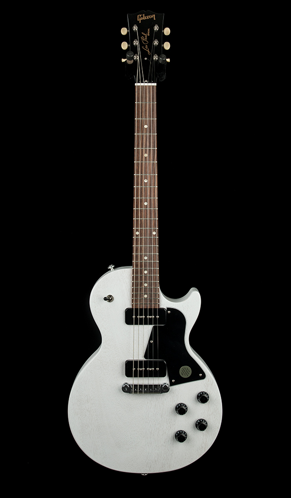 Gibson Les Paul Special Tribute P90 Worn White #133790082 Front