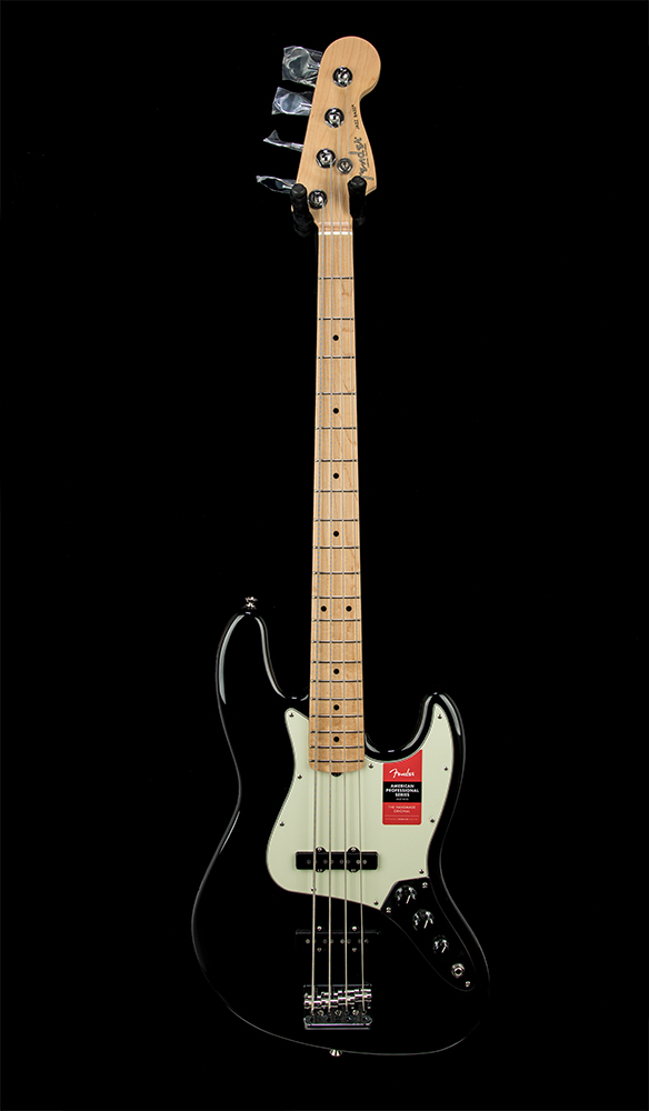American Pro Jazz Bass #US19025446 front