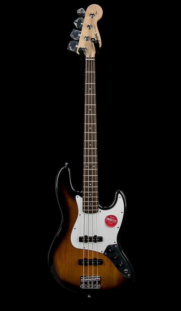 Squier Affinity J Bass LRL BSB Front