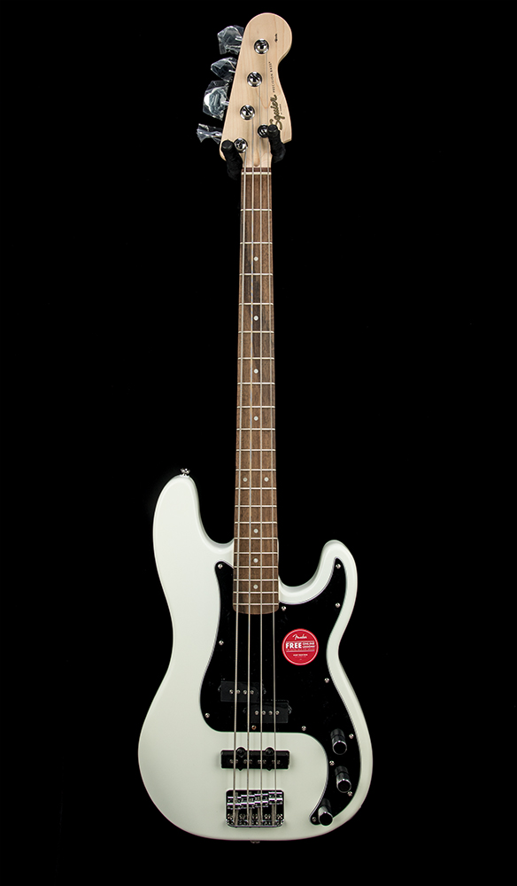 Squier Affinity PJ Bass OWT Front