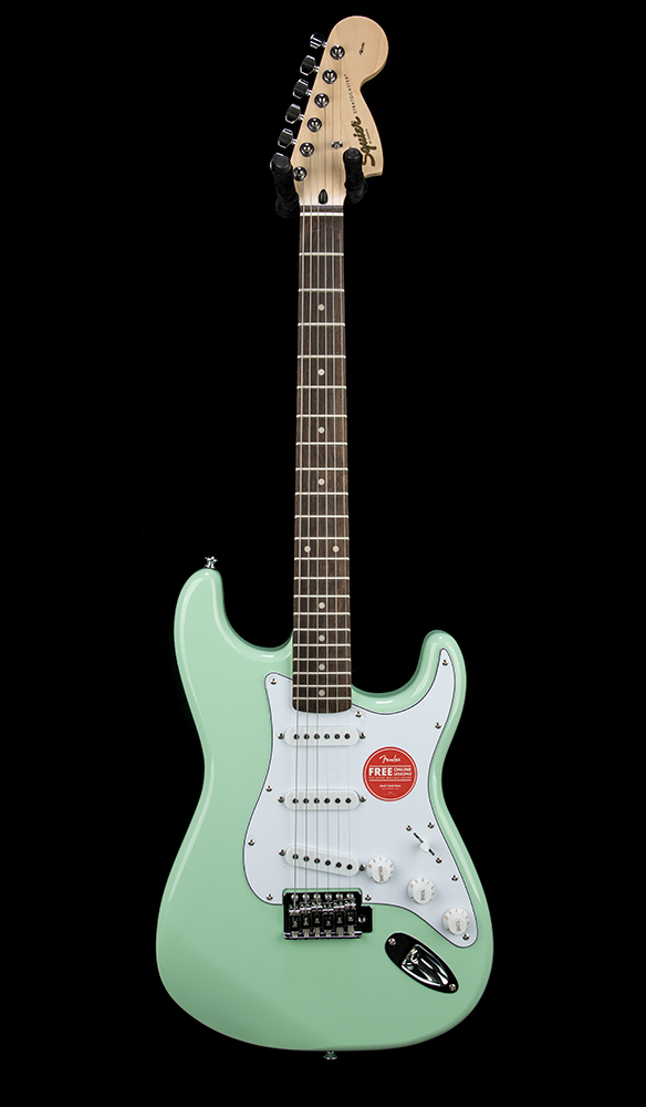 Squier Affinity Strat SFG Front