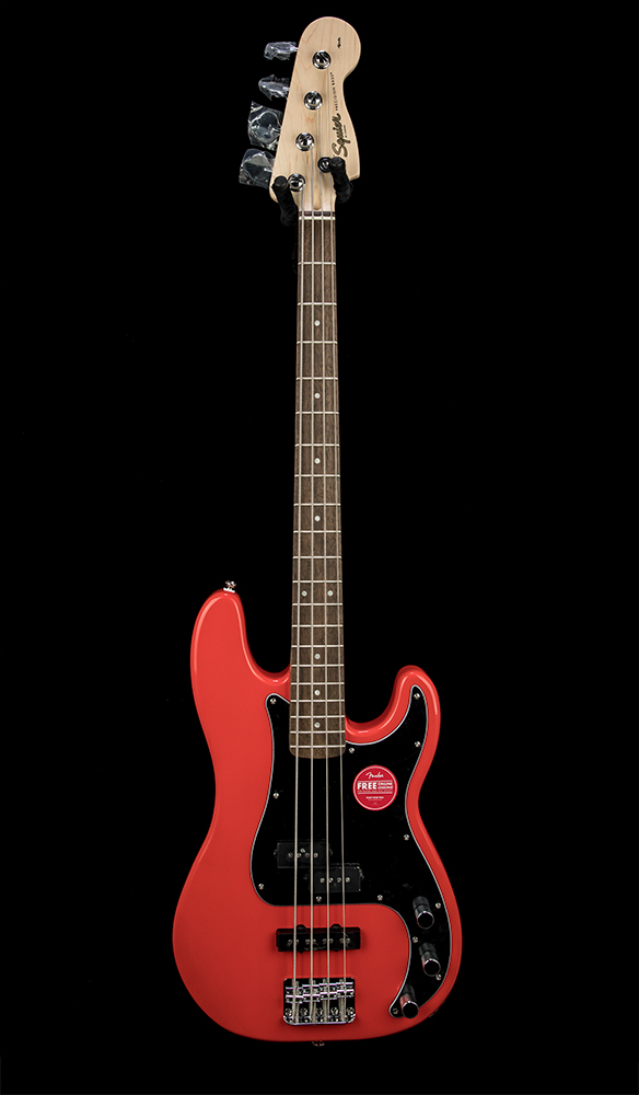 Squier Affinity PJ Bass RCR Front