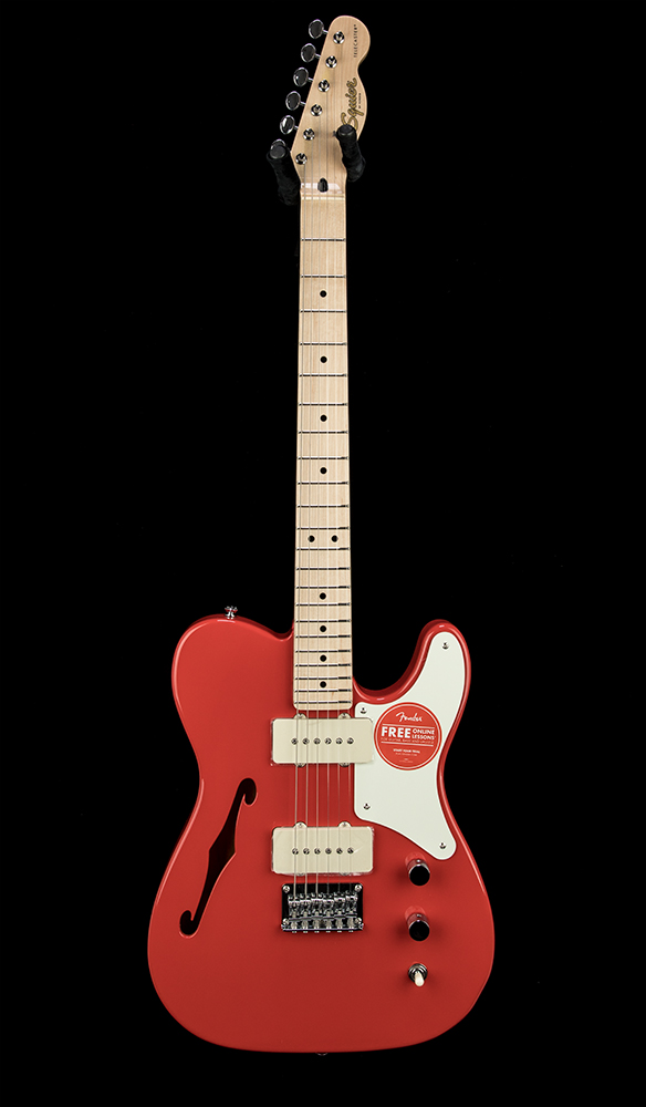 Squier Paranormal Cab Tele Thinline FRD #CYKG20007191 Front
