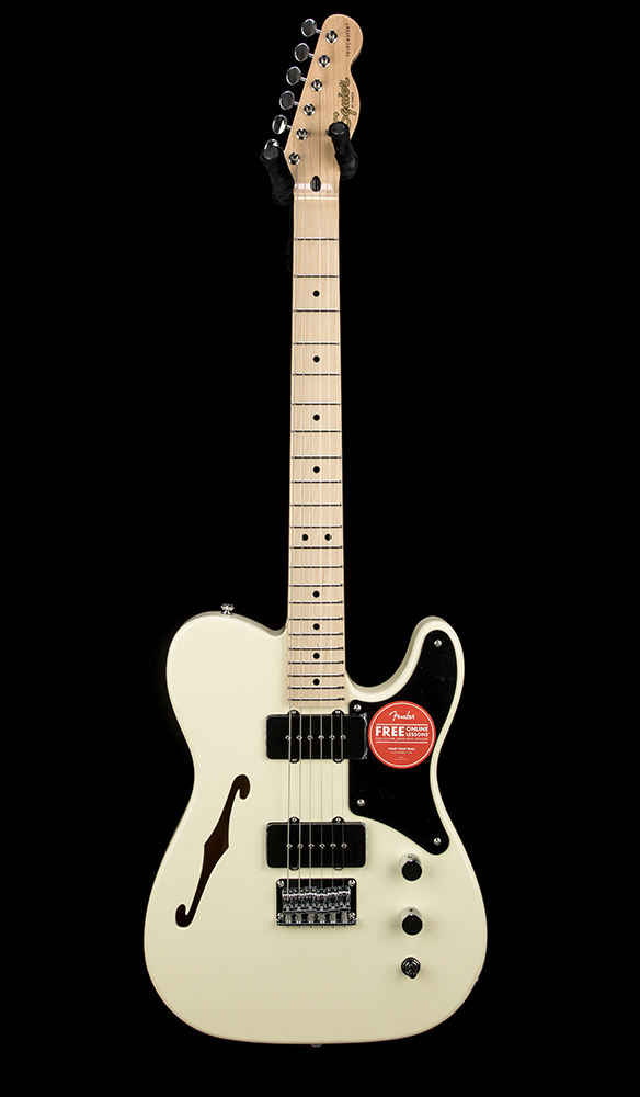 Squier Paranormal Cab Tele Thinline OLW #CYKG20003253 Front