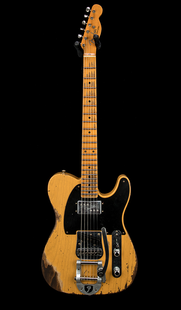 Fender Custom Shop B0 LTD CuNiFe Tele #CZ548601 Front