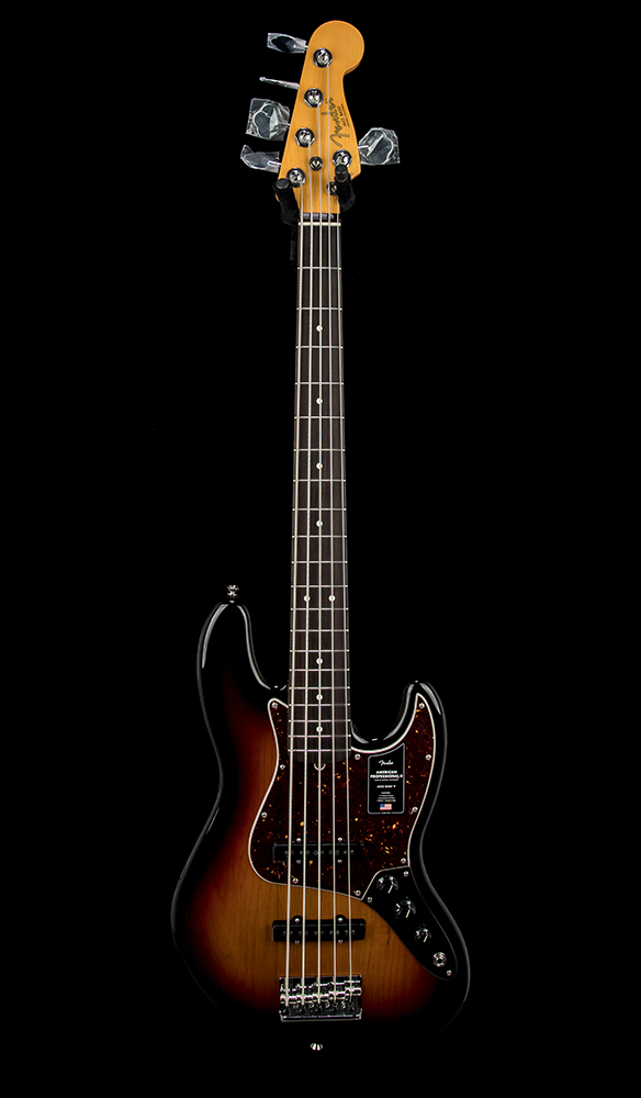 Fender American Pro II Jazz Bass V #US20087547 Front