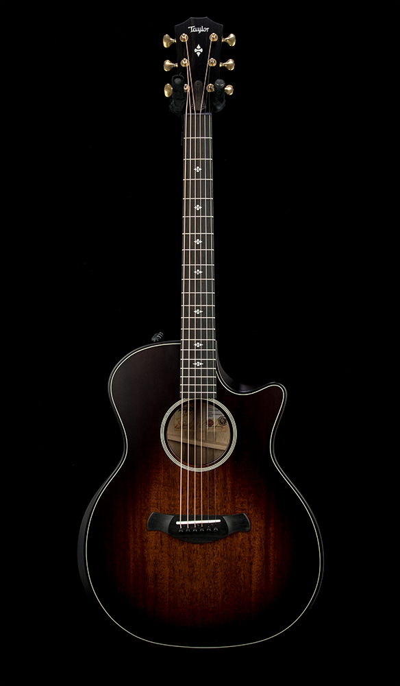 Factory Used Taylor 324ce Builders Edition #1212070037 Front
