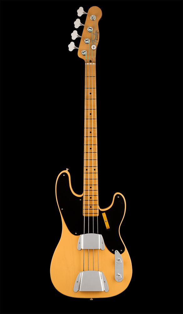 04 Limited Edition 1951 Precision Bass® Deluxe Closet Classic, Maple Fingerboard, Nocaster® Blonde Front