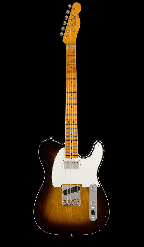 35 Postmodern Telecaster® Journeyman Relic® with Closet Classic Hardware, Maple Fingerboard, Wide-Fade 2-Color Sunburst Front