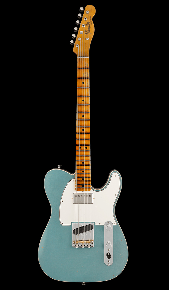 37 Postmodern Telecaster® Journeyman Relic® with Closet Classic Hardware, Maple Fingerboard, Aged Firemist Silver Front