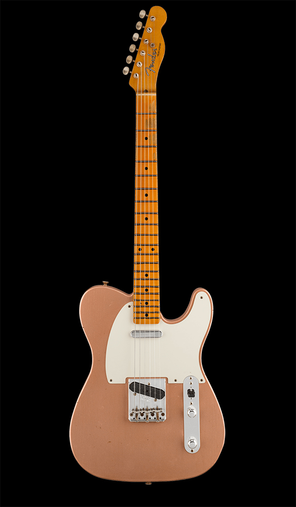 40 1955 Telecaster® Journeyman Relic®, Maple Fingerboard, Faded Aged Copper Front