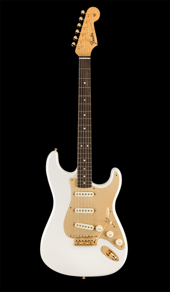 50 Limited Edition 75th Anniversary Stratocaster® NOS, Rosewood Fingerboard, Diamond White Pearl Front