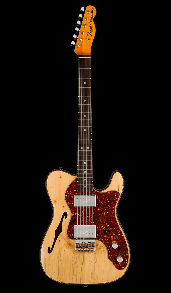 18 Limited Edition Knotty CuNiFe Telecaster® Relic®, Rosewood Fingerboard, Aged Natural Front