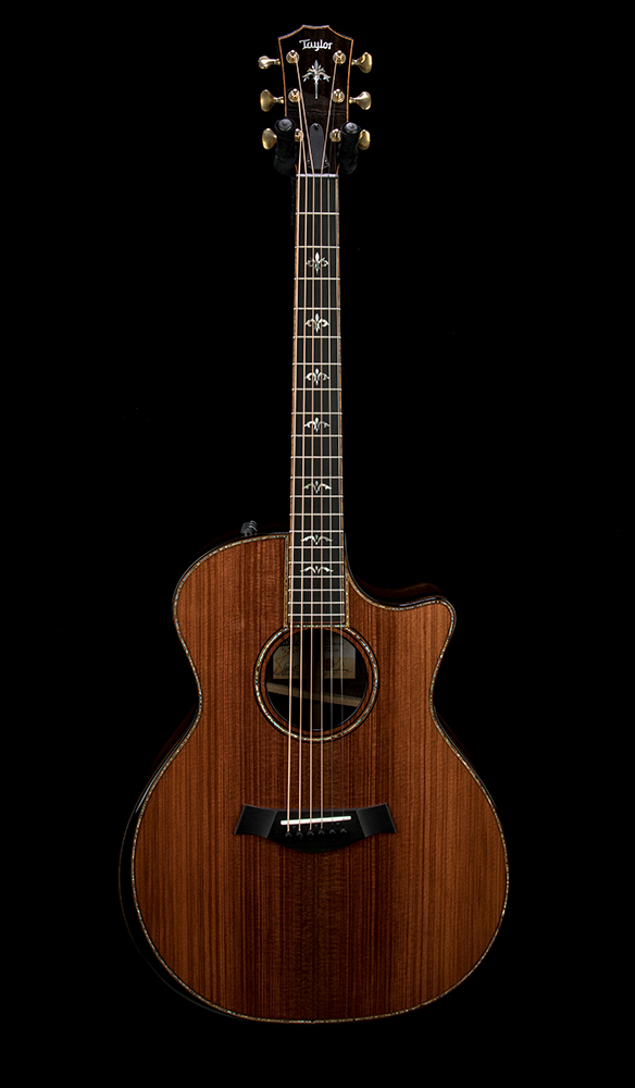Factory Used Taylor 914ce LTD Redwood #1211030140 Front