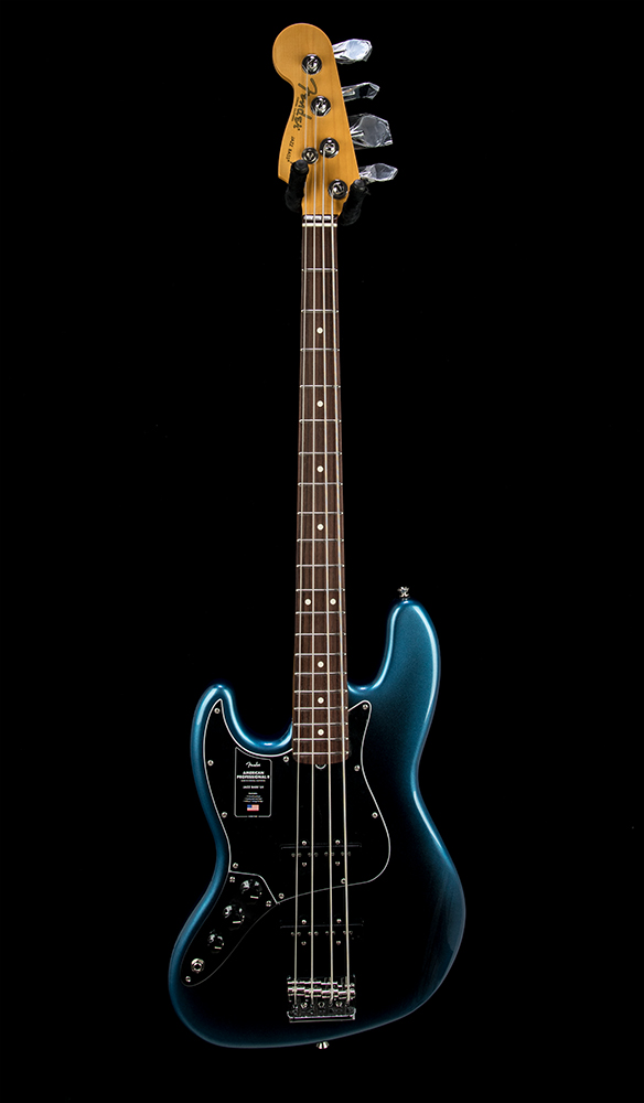 Fender American Pro II Jazz Bass LH #US210017271 Front