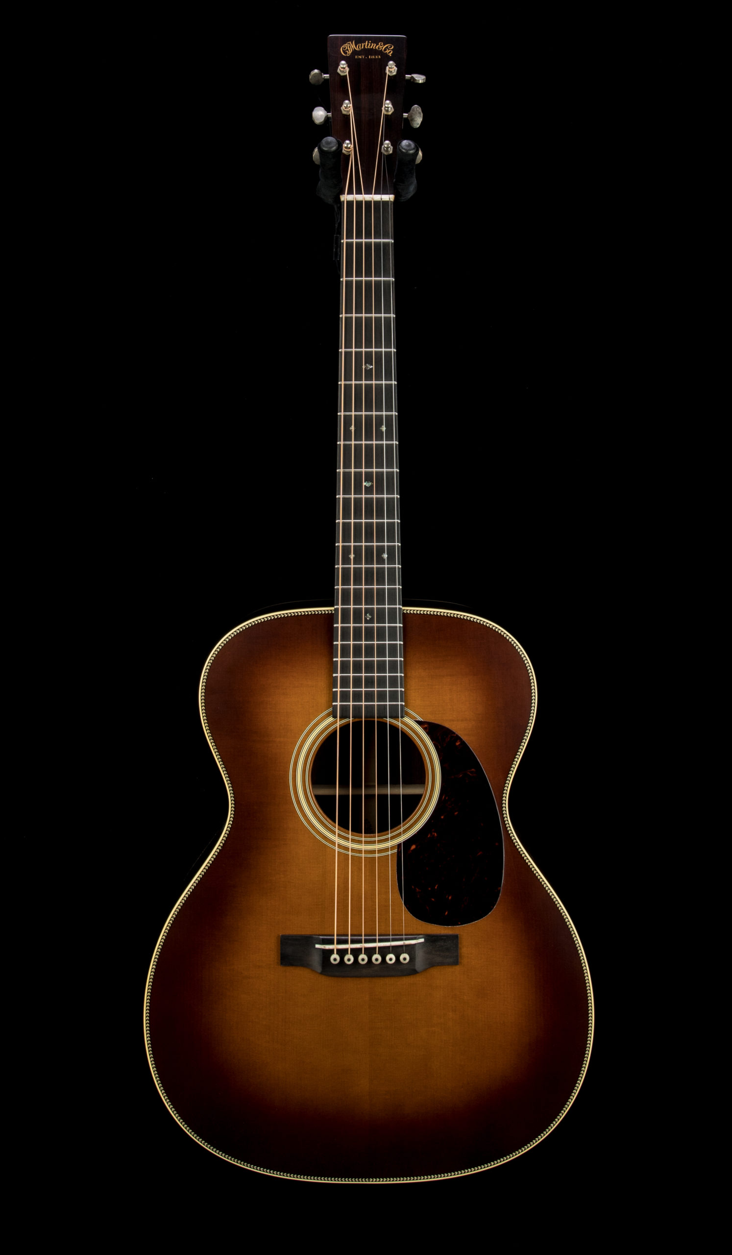 Martin Custom 00028 CE08 Authentic 1937 Stage 1 Amber #2467474 Front