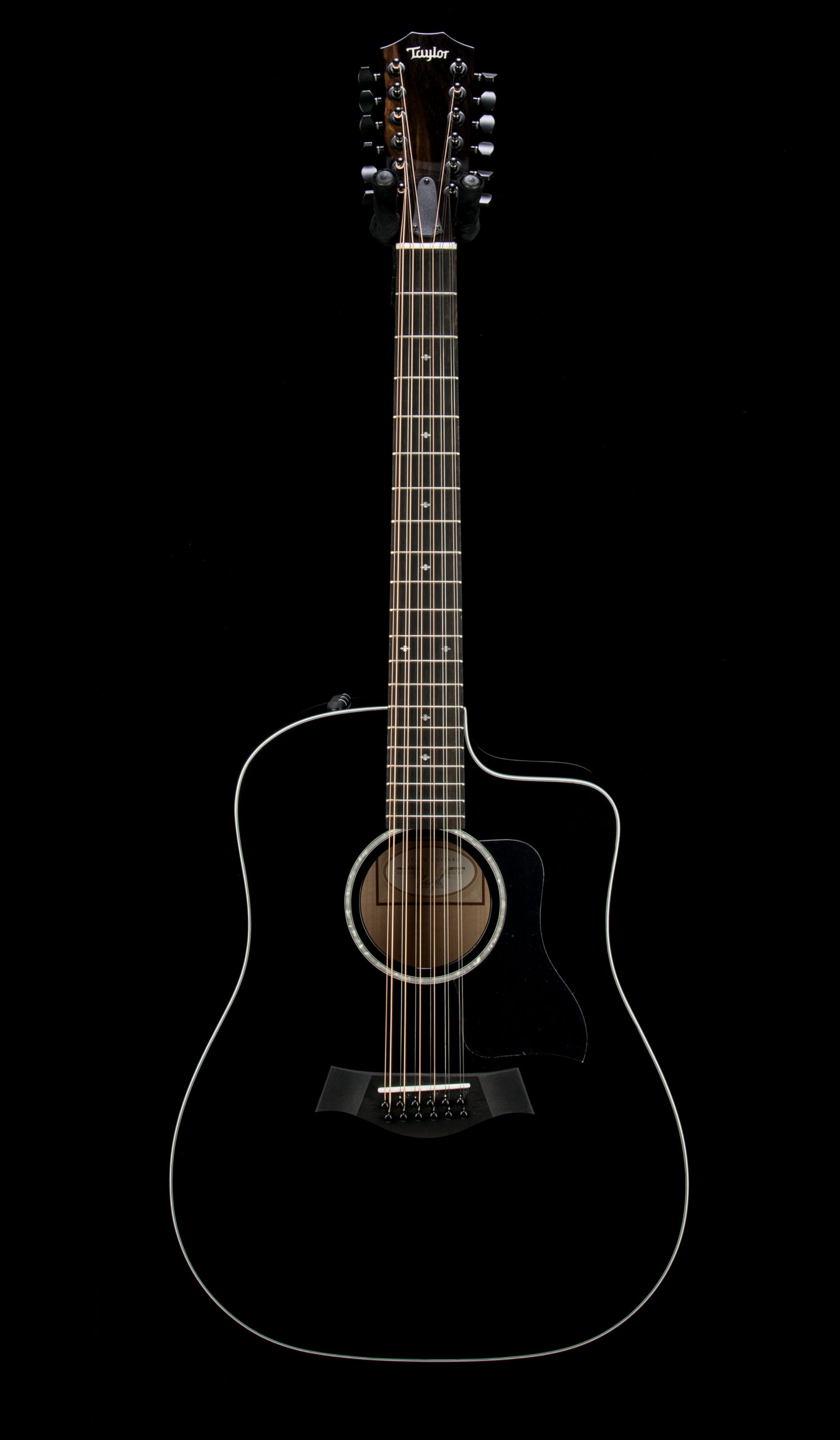 Taylor Factory Used 250ce Black DLX #2205211270 Front