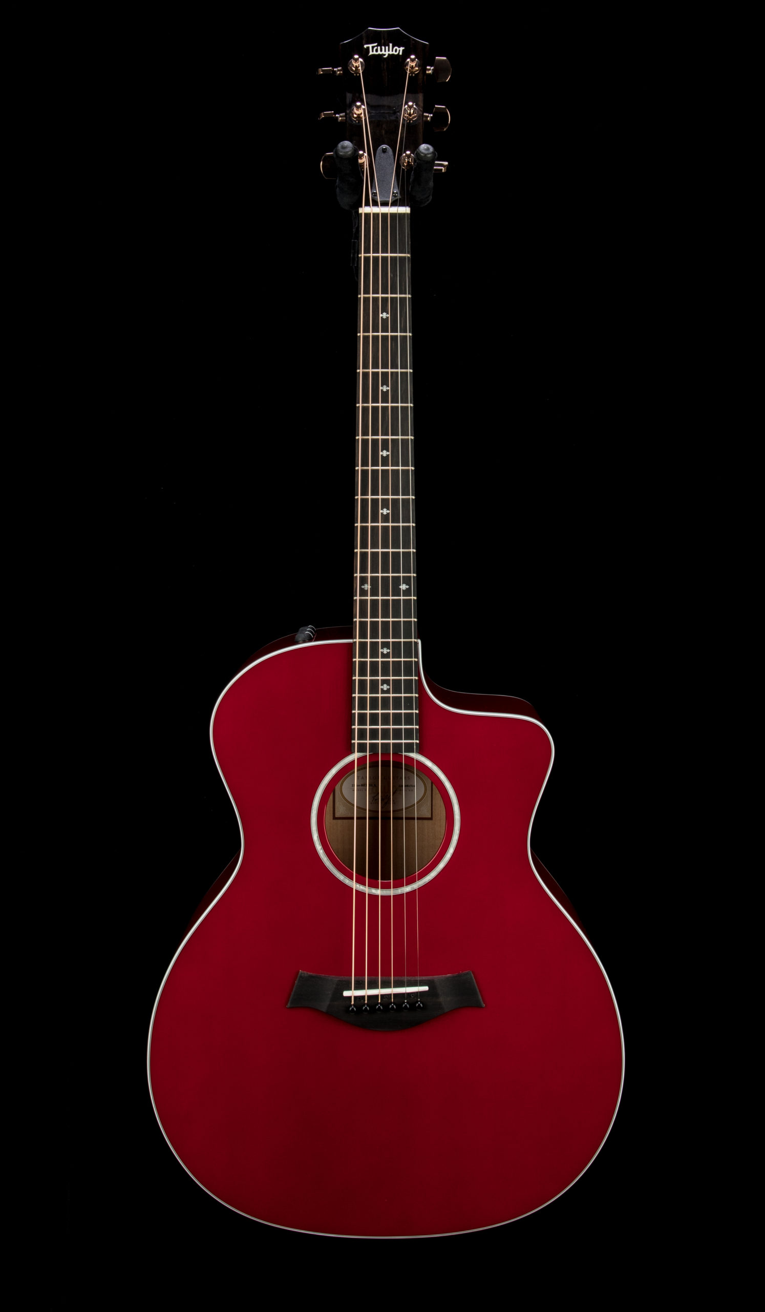Taylor Factory Used 214ce Red DLX #2206081516 Front