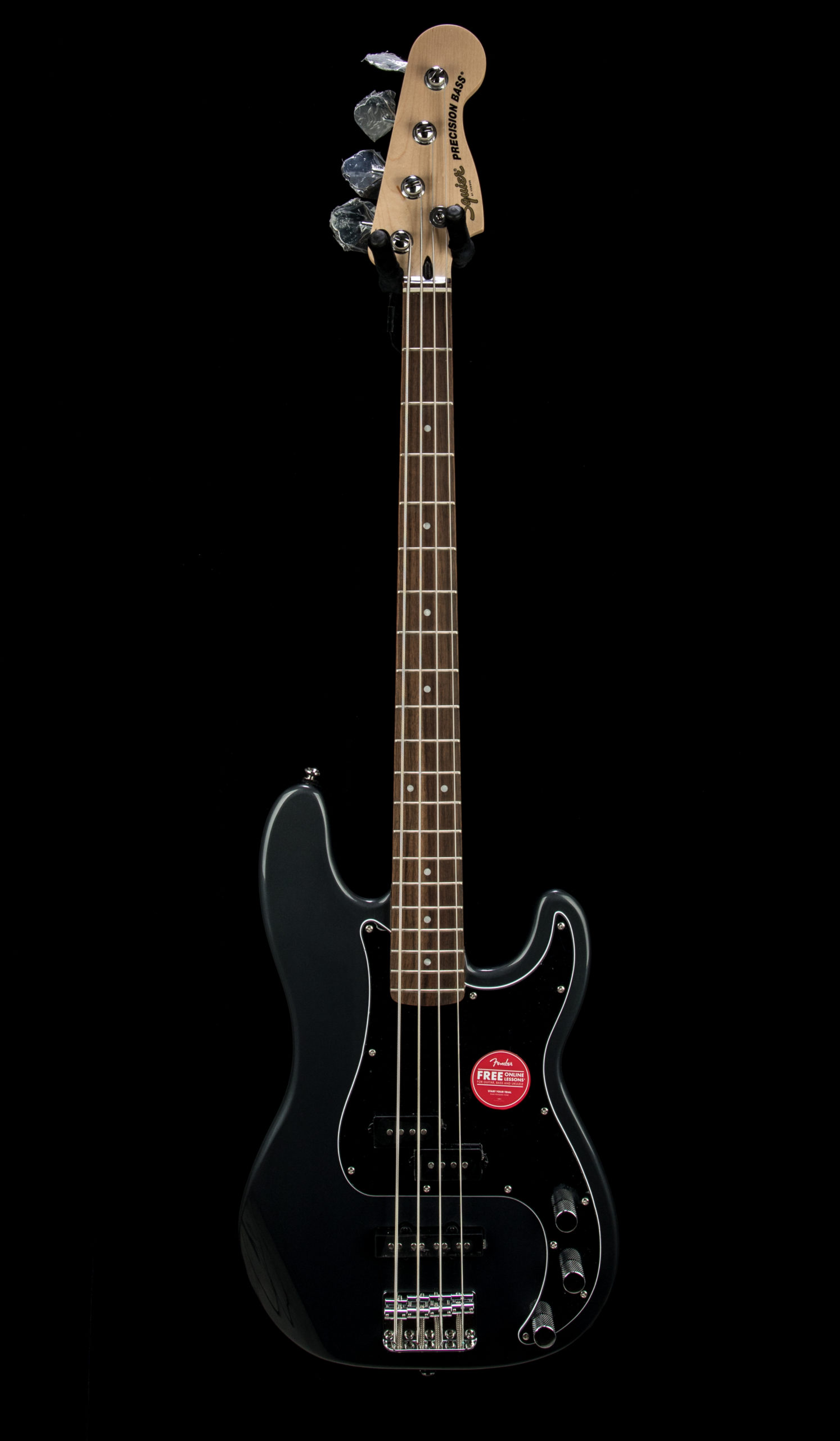 Squier Affinity PJ Charchoal Front