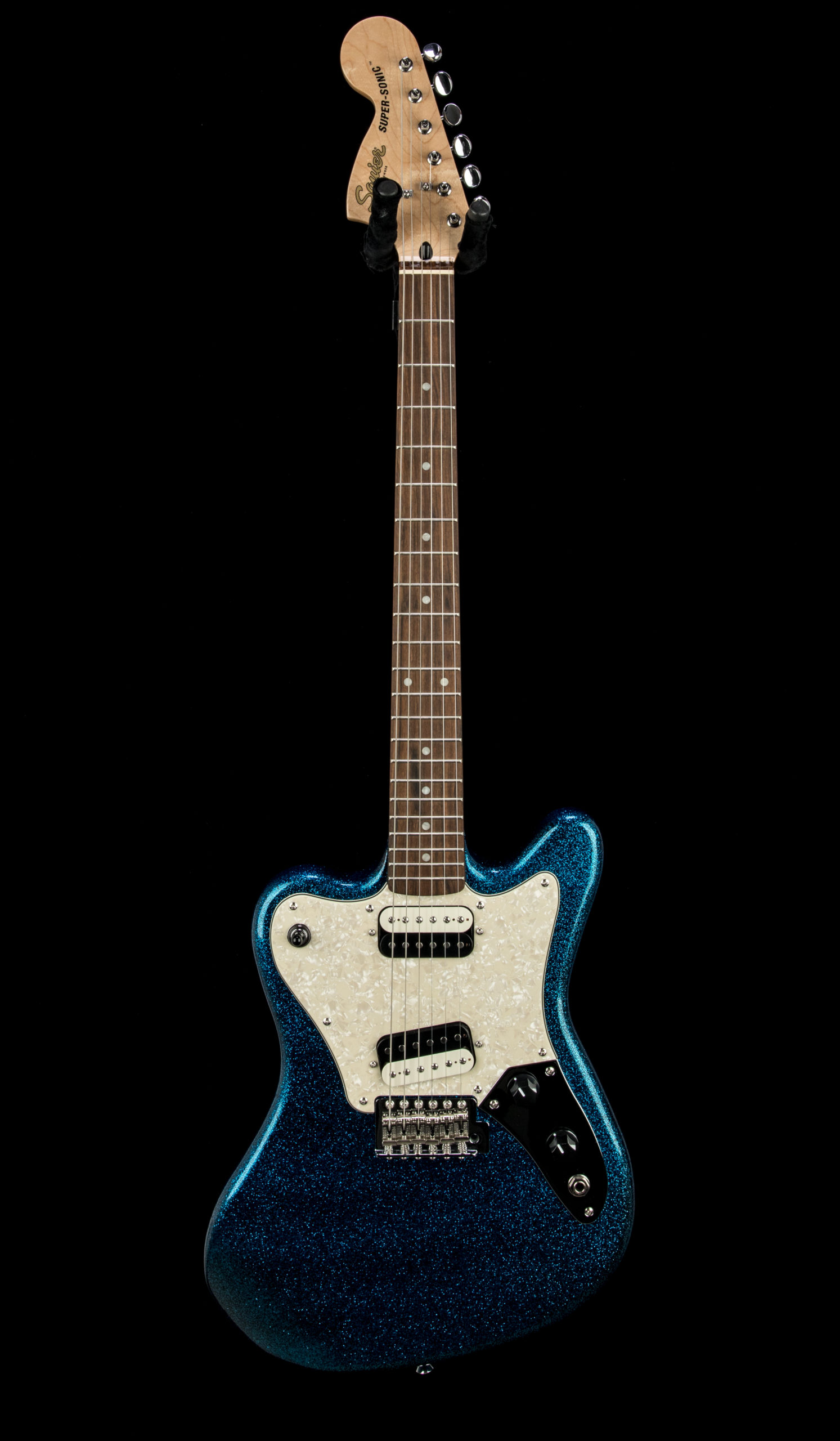 01 Squier Paranormal Super Sonic #CYKG21002913 Front