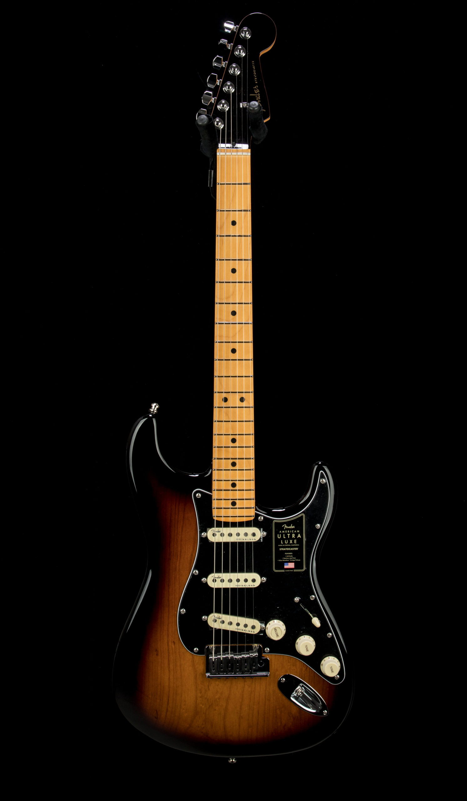 07 Fender Ultra Luxe Strat #US210066551 Front