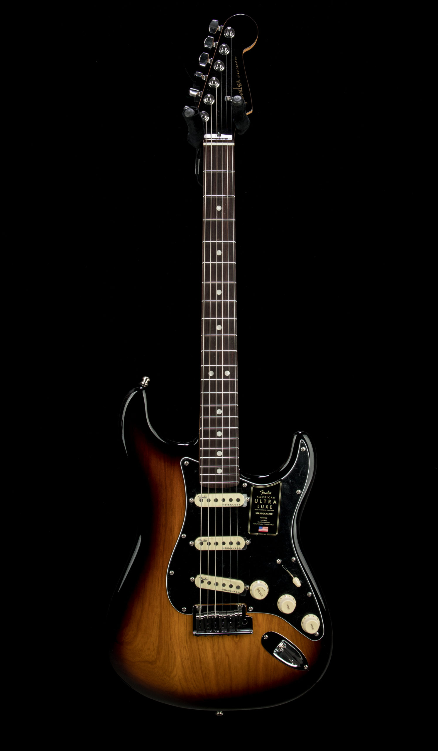 11 Fender Ultra Luxe Strat #US210059753 Front