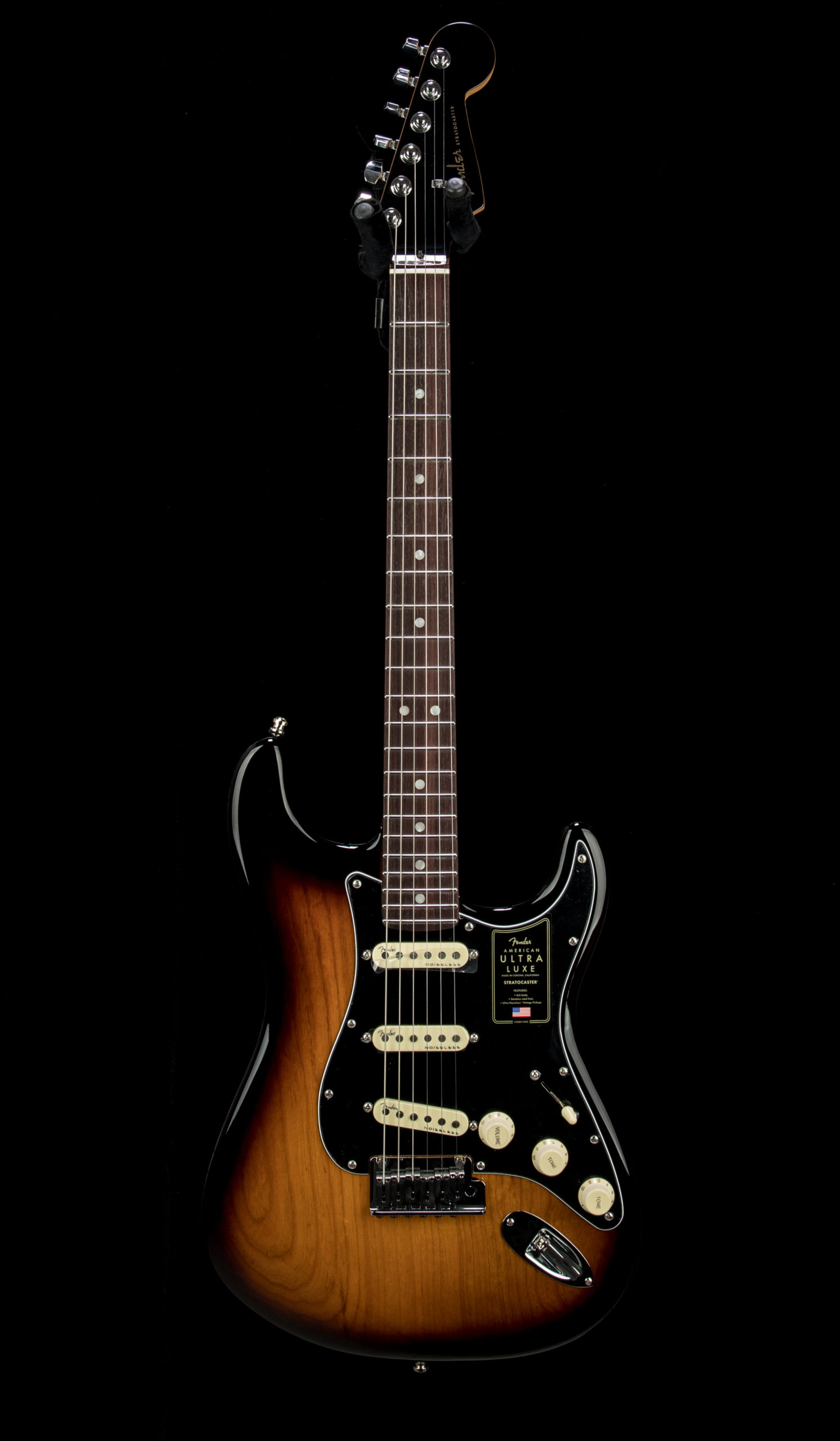 12 Fender Ultra Luxe Strat #US210056905 Front