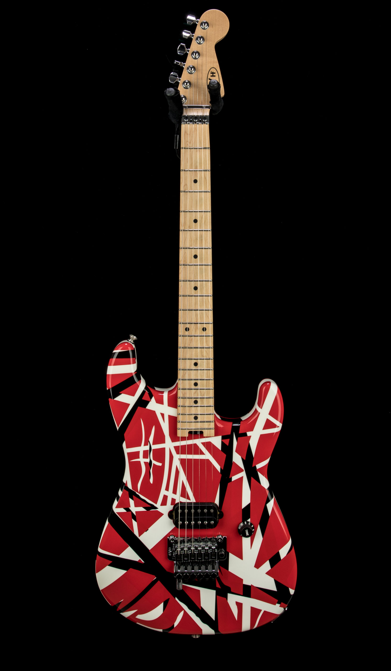 01 Used EVH Striped #EVH1401369 Front